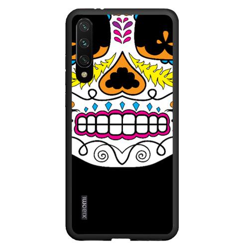 Чехол для Xiaomi Redmi Mi A3 Мексиканский череп - Skull