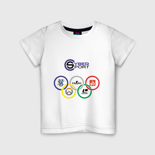 Детская футболка хлопок CyberSport