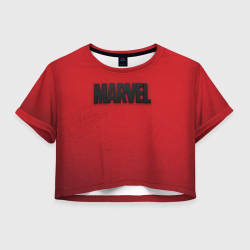 Женская футболка Crop-top 3D MARVEL