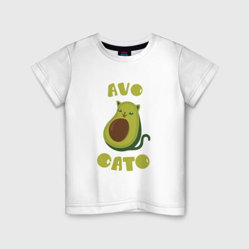 Детская футболка хлопок AvoCato