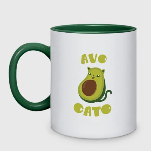 Кружка двухцветная AvoCato