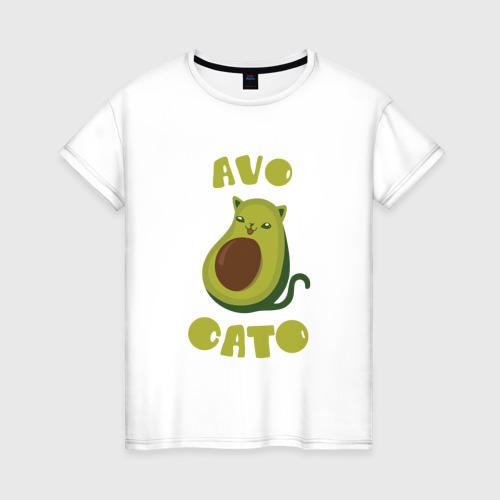Женская футболка хлопок AvoCato