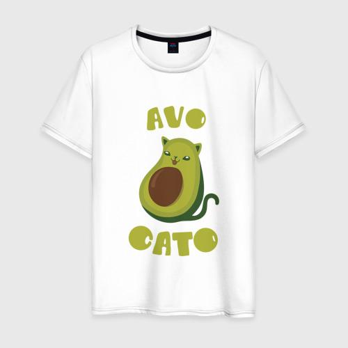 Мужская футболка хлопок AvoCato