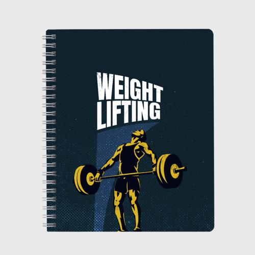 Тетрадь Wheight lifting