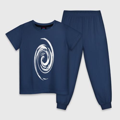 Детская пижама хлопок Спираль