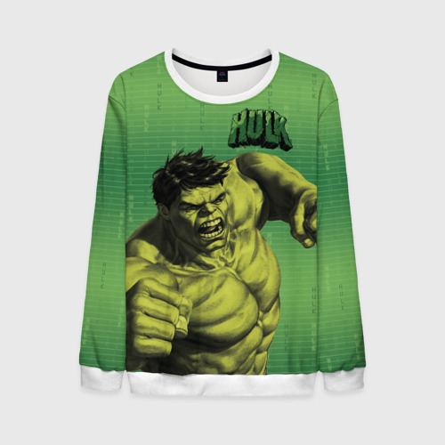 Мужской свитшот 3D Hulk