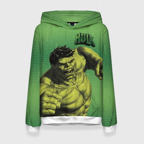 Женская толстовка 3D Hulk