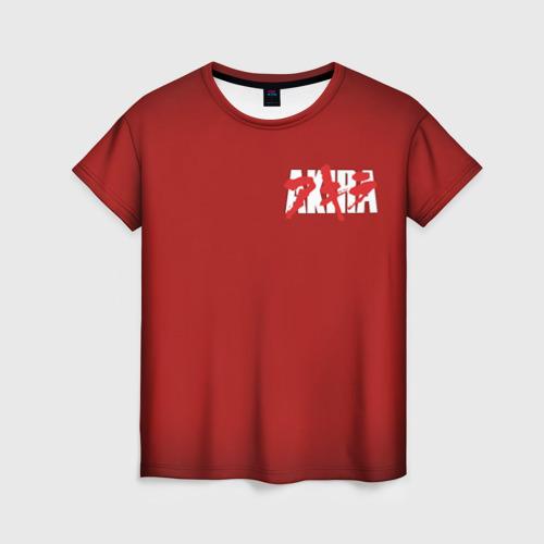 Женская футболка 3D Good for health