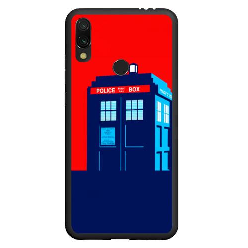 Чехол для Xiaomi Redmi Note 7 IN TARDIS WE TRUST