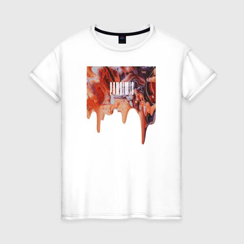 Женская футболка хлопок PANDEMIC