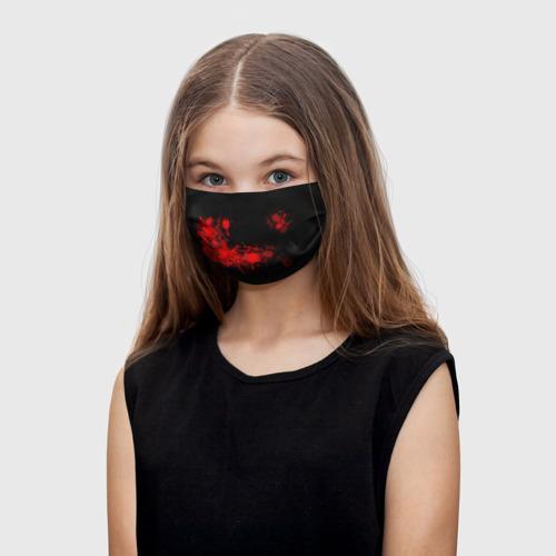 Детская маска (+5 фильтров) Брызги