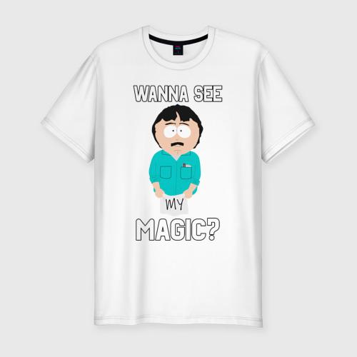 Мужская футболка хлопок Slim Петушковая магия