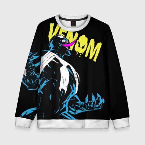 Детский свитшот 3D Venom