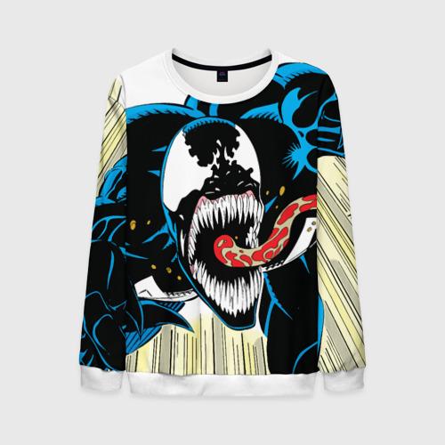 Мужской свитшот 3D Venom