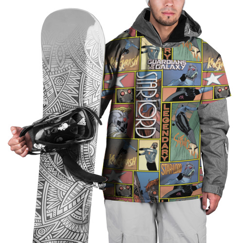 Накидка на куртку 3D Legendary