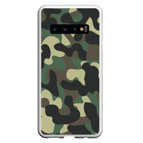 Чехол для Samsung Galaxy S10 КАМУФЛЯЖ