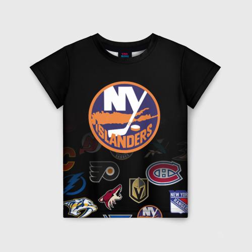 Детская футболка 3D NHL New York Islanders (Z)