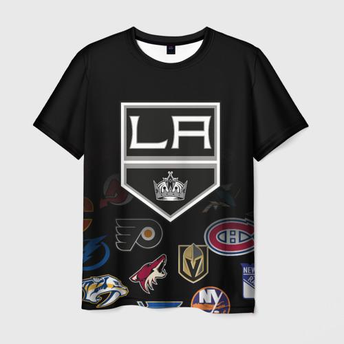 Мужская футболка 3D NHL Los Angeles Kings (Z)