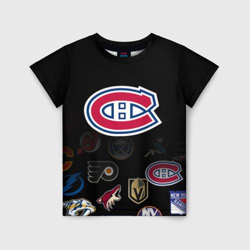 Детская футболка 3D NHL Canadiens de Montr?al (Z)