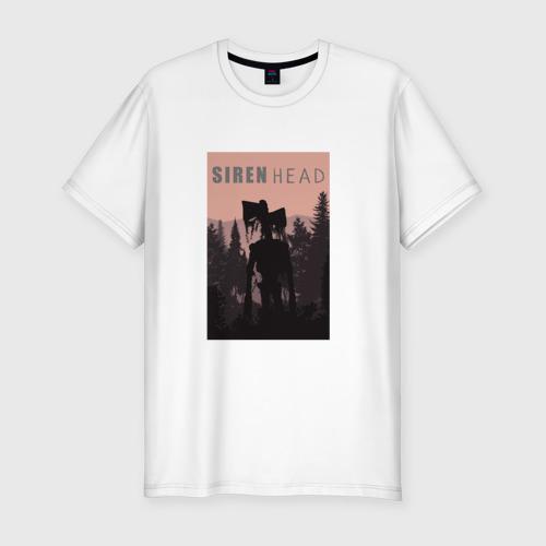 Мужская футболка хлопок Slim Siren head