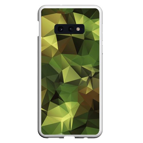 Чехол для Samsung S10E МИЛИТАРИ
