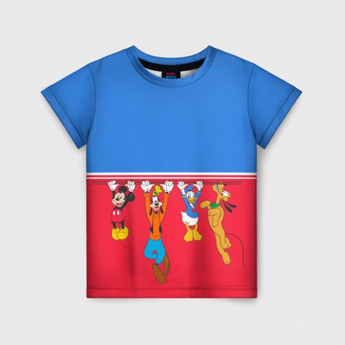 Детская футболка 3D Отвисаем
