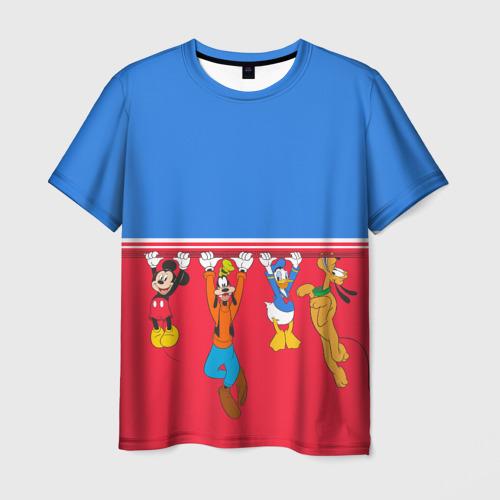Мужская футболка 3D Отвисаем