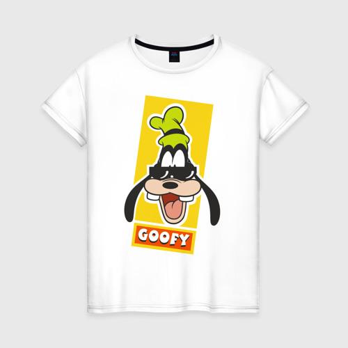 Женская футболка хлопок Гуффи