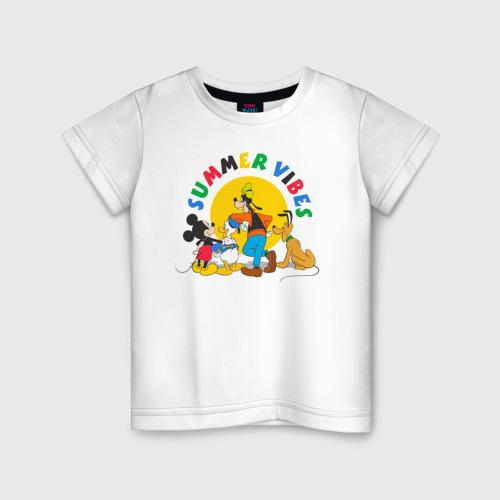 Детская футболка хлопок Summer Vibes