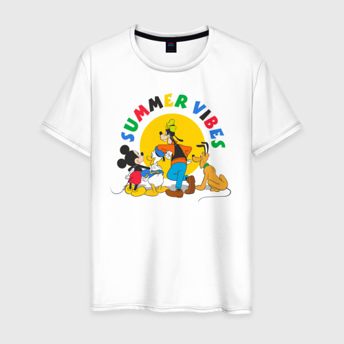 Мужская футболка хлопок Summer Vibes