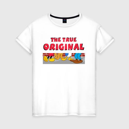 Женская футболка хлопок The true original
