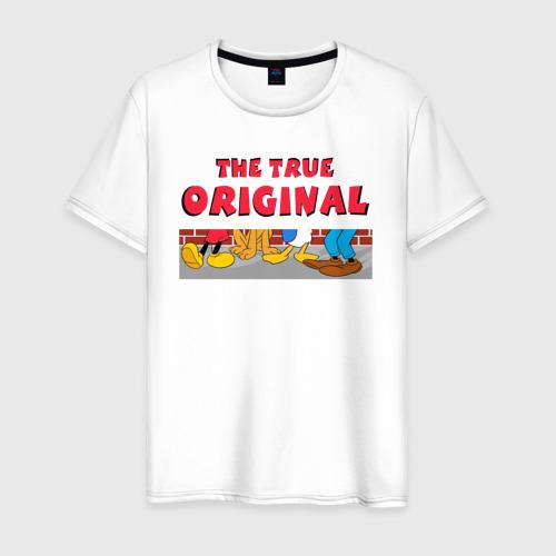 Мужская футболка хлопок The true original
