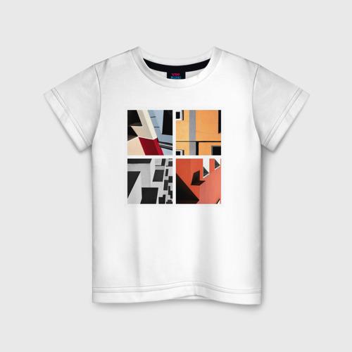 Детская футболка хлопок архитектура