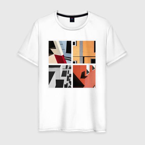 Мужская футболка хлопок архитектура