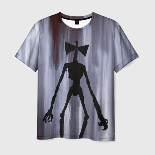 Мужская футболка 3D Сиреноголовый