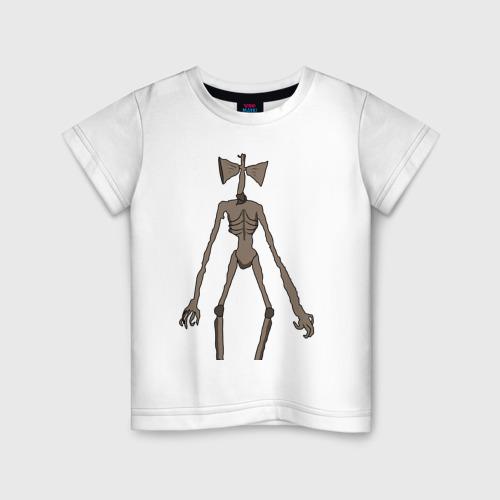 Детская футболка хлопок Сиреноголовый монстр