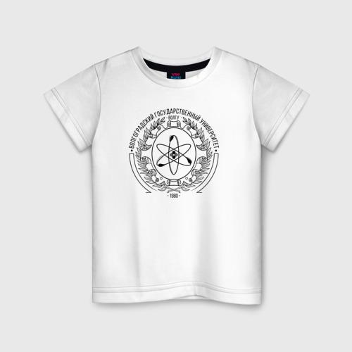Детская футболка хлопок ВолГУ