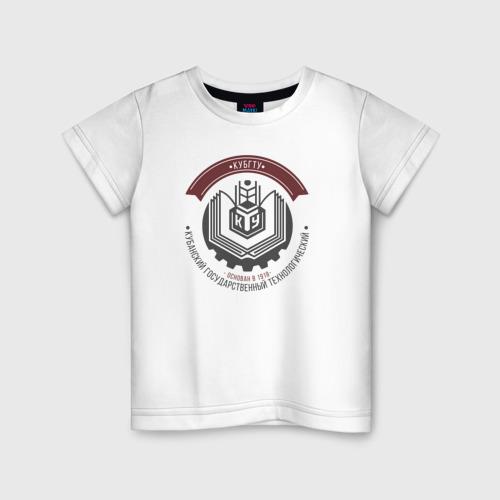 Детская футболка хлопок КубГТУ