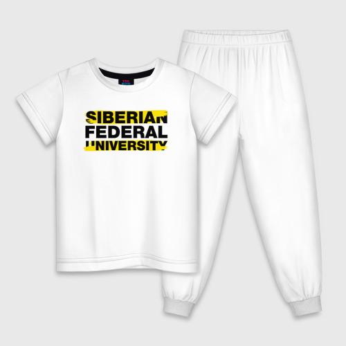 Детская пижама хлопок SFU brush