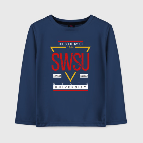 Детский лонгслив хлопок SWSU