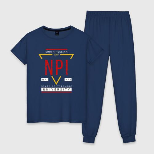 Женская пижама хлопок NPI
