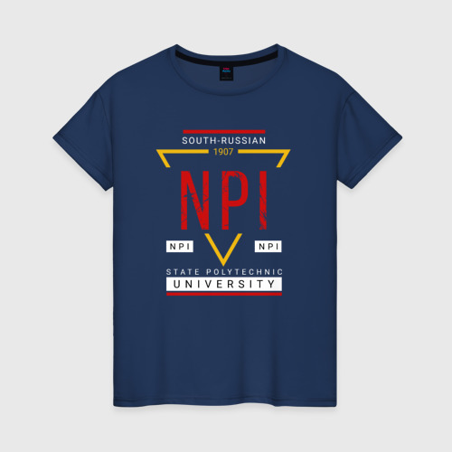 Женская футболка хлопок NPI