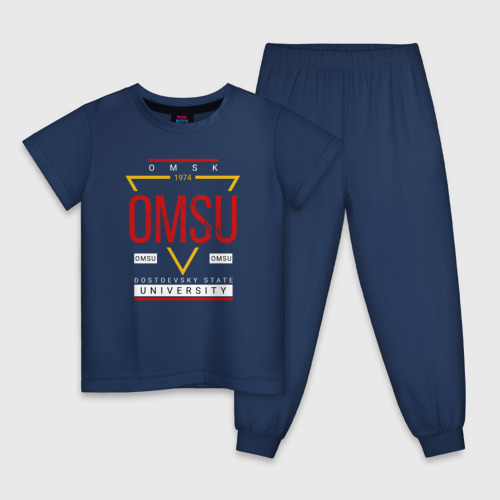 Детская пижама хлопок OmSU