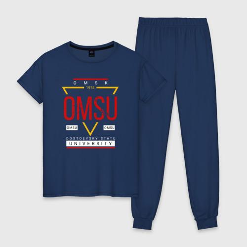 Женская пижама хлопок OmSU