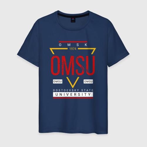 Мужская футболка хлопок OmSU