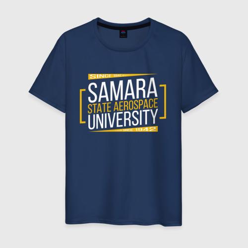 Мужская футболка хлопок SSAU since 1942