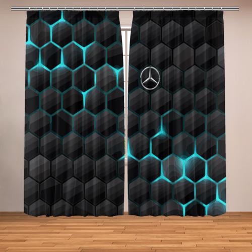 Фотошторы Mercedes-Benz
