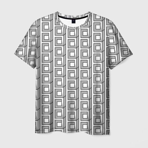 Мужская футболка 3D Архитектура