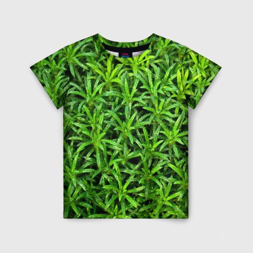 Детская футболка 3D Растения