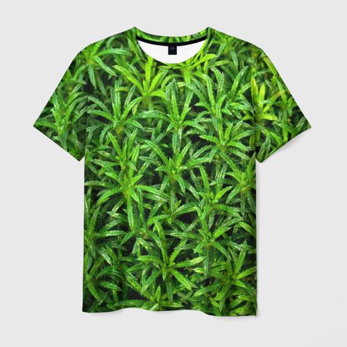 Мужская футболка 3D Растения